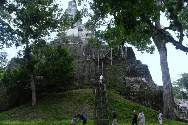 Tikal - Those pyramids are impressive, massive stone buildings Temple II - Guatemala