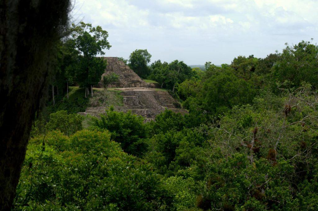 Pyramid - Yaxha