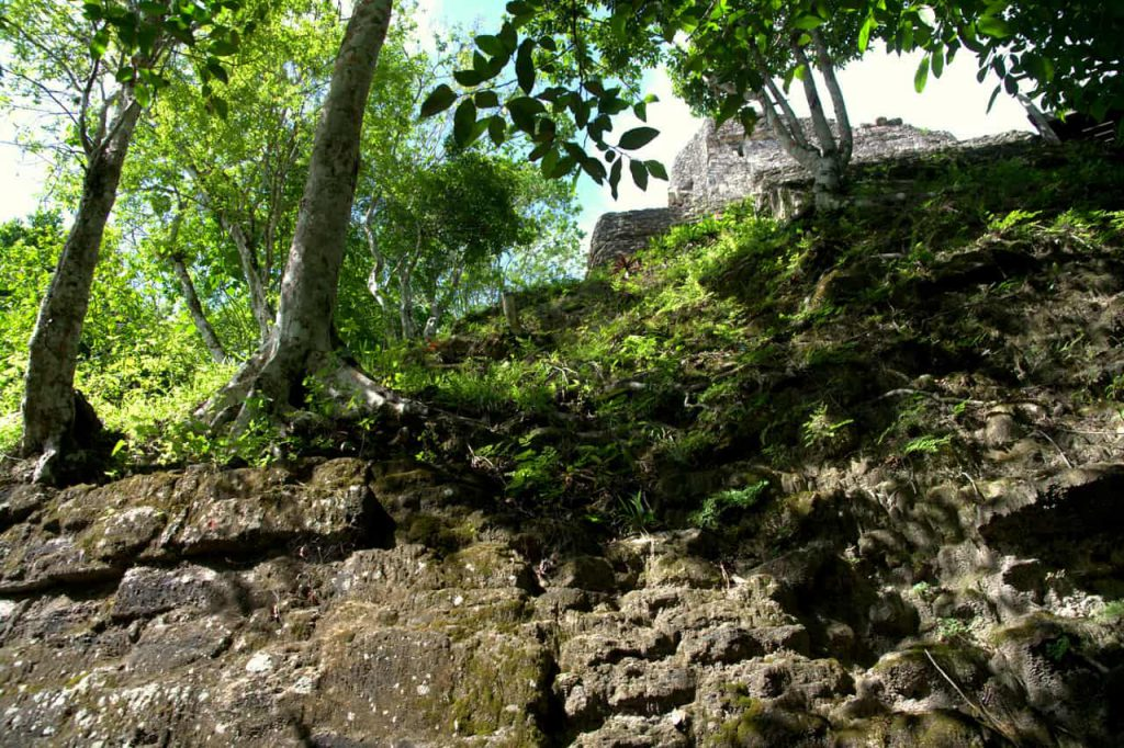 Structures in Yaxha - Guatemala - 2