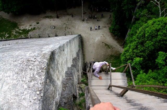 Tikal - Pyramid - Temple IV - Guatemala