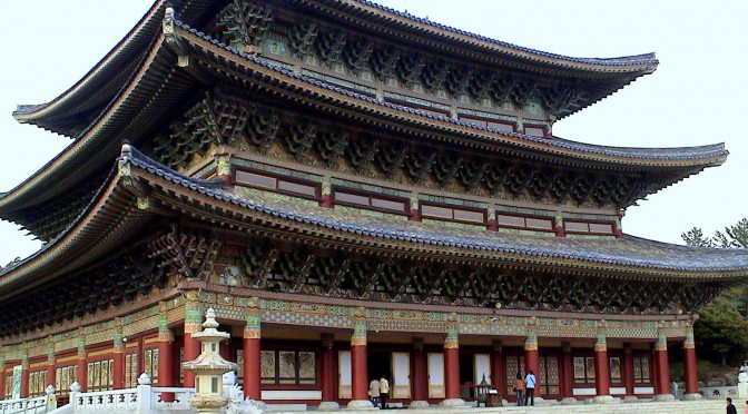 Yakcheonsa Buddhist Temple – Jeju Island