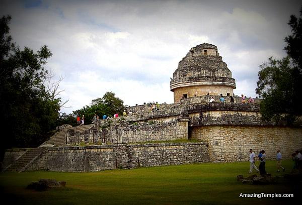 El Caracol - the observatory temple - Chichen Itza, Mexico
