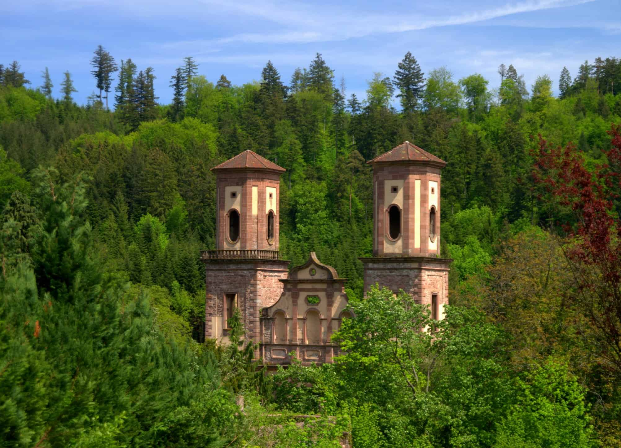 Frauenalb – Ruins of a Nunnery – Baden-Wuerttemberg – Germany