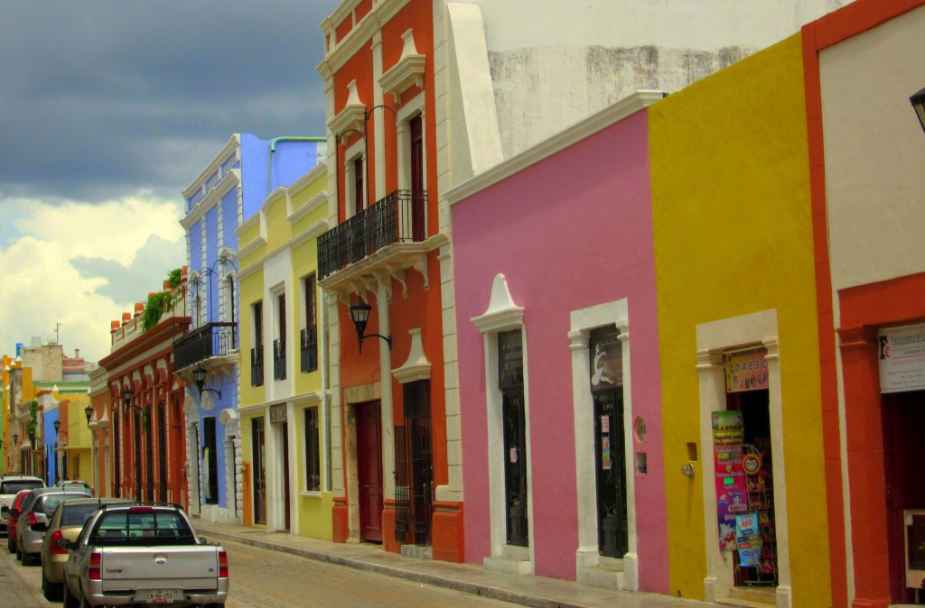 Colonial Street - Campeche