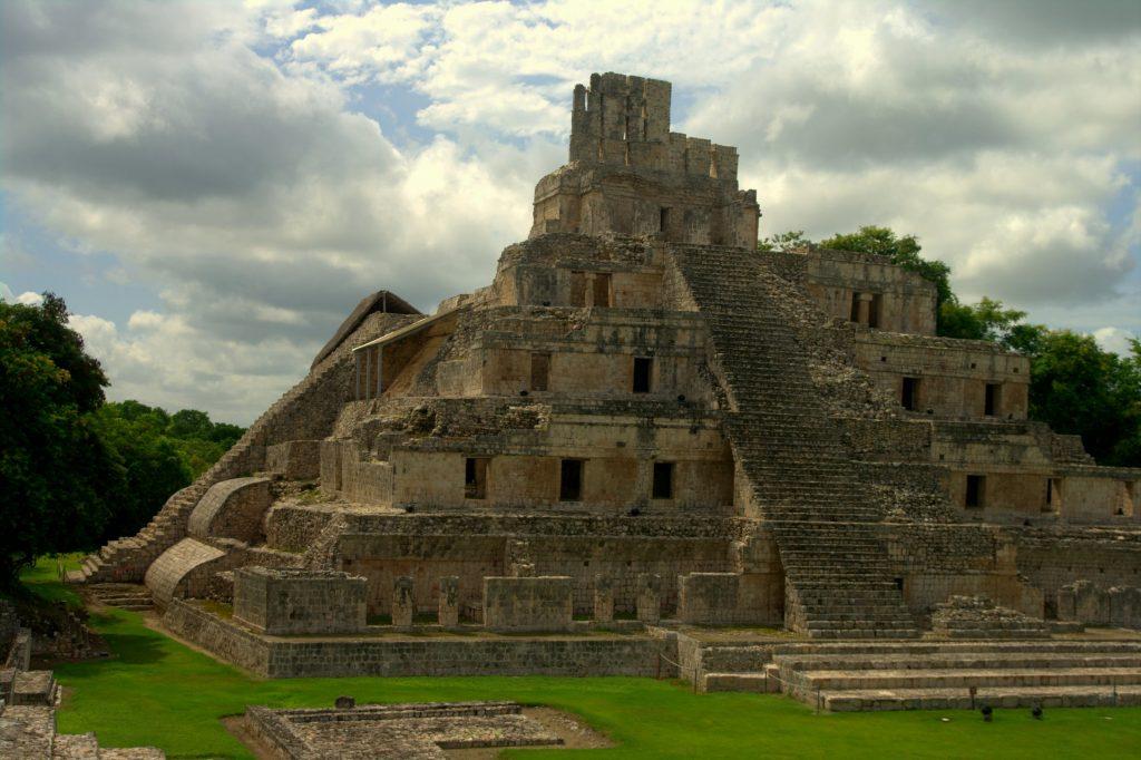 Édificio de los Cinco Pisos - Edzna - Campeche