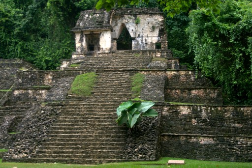 Palenque - the temple of the skull
