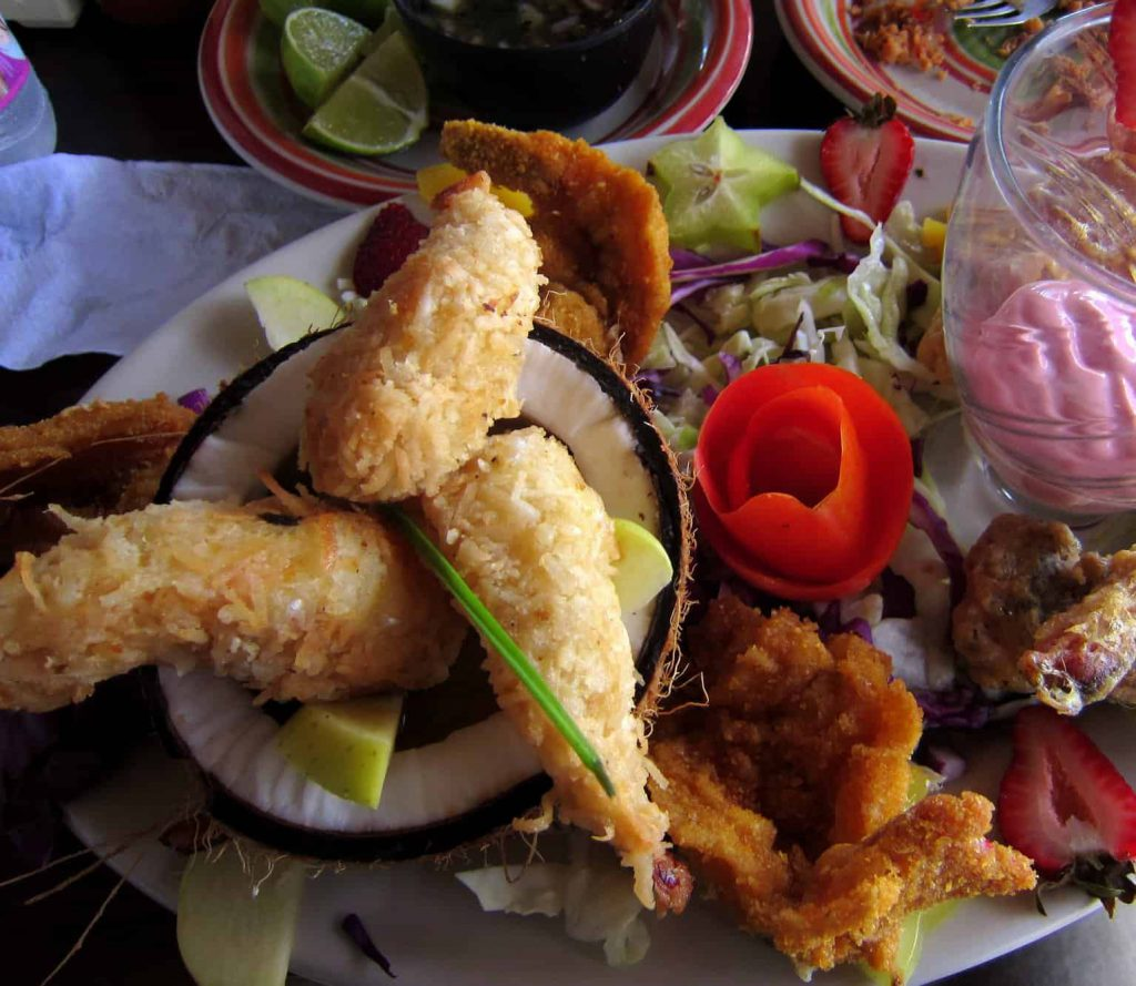 Selection of Sea Food - Campeche