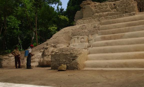 Structures in El Mirador - Guatemala - Jungle Adventure