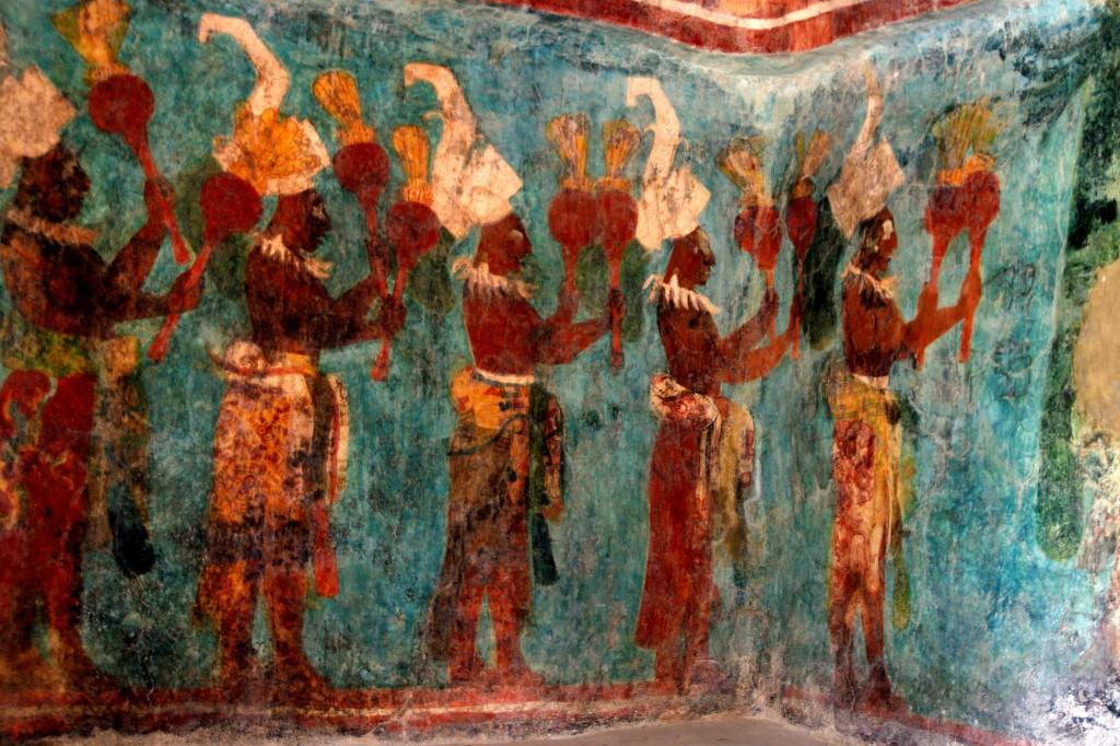 Bonampak Murals - Mayan Art - Chiapas - Mexico