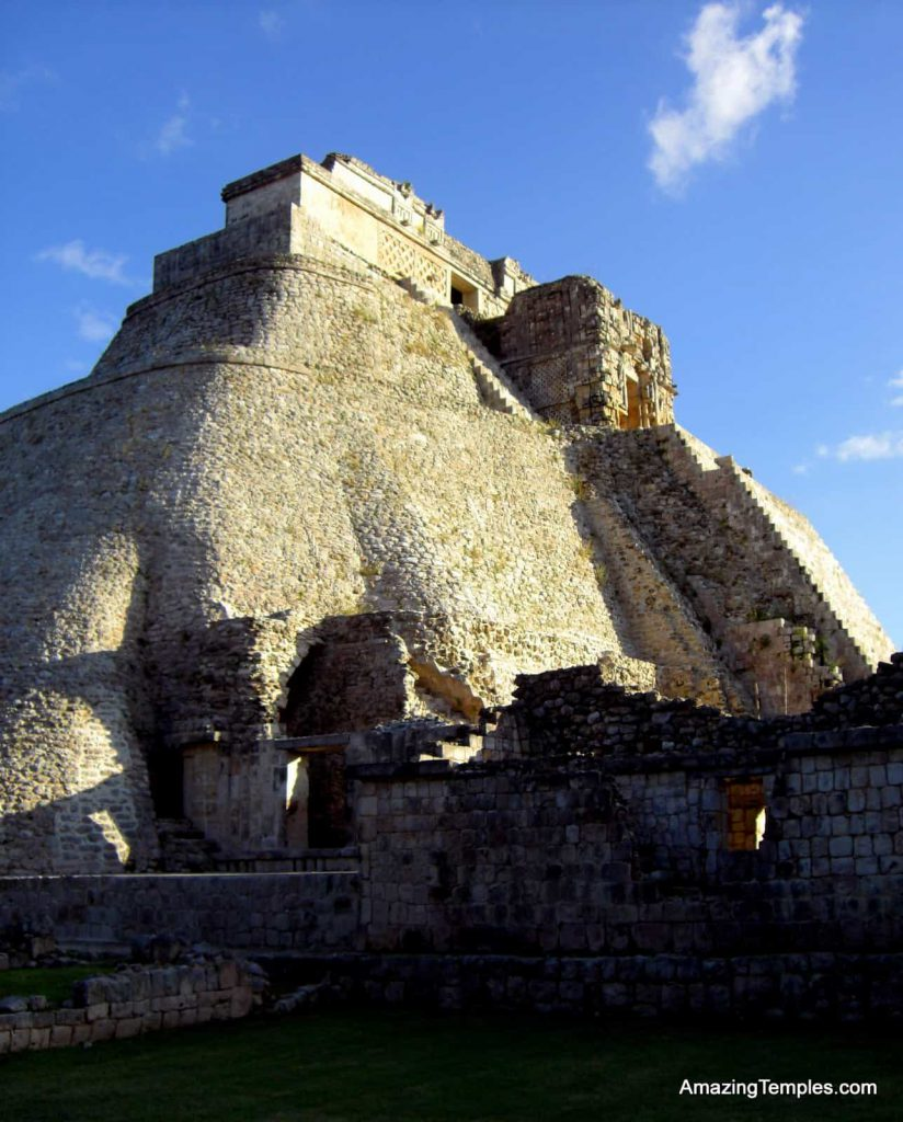 Maya - Pyramid of the Magician - Uxmal