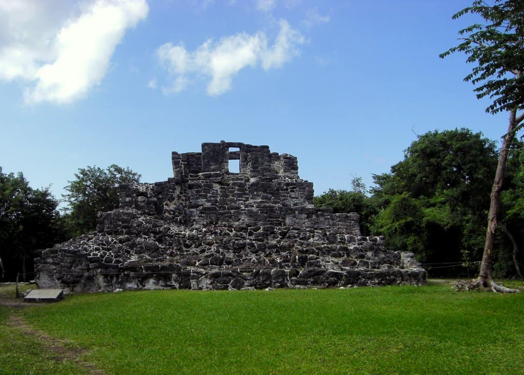 The big house - San Gervasio -Cozumel