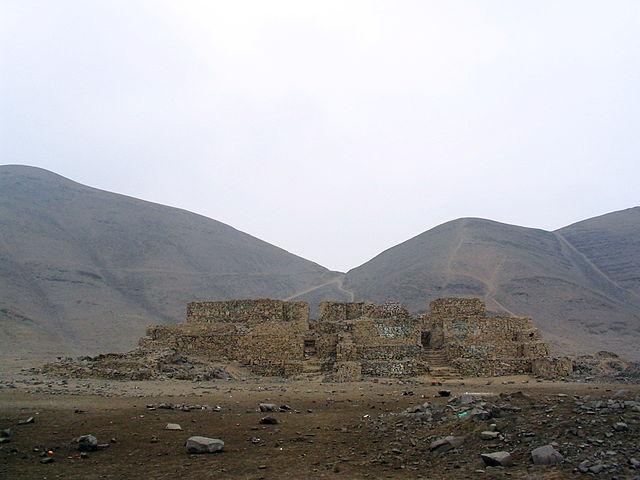 Pyramid - El Paraiso - Lima - Peru