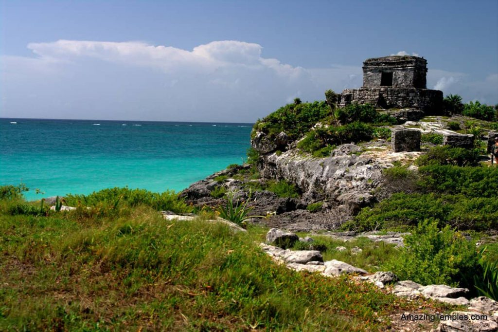 Temple of the God of Winds in Tulum