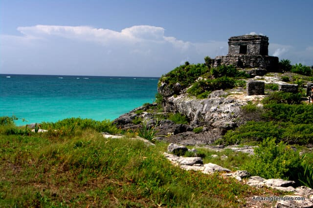 Tulum - Quintana Roo - Riviera Maya: Temple of the God of Winds