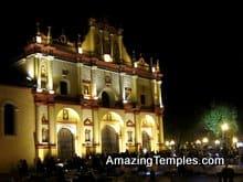 San Cristobal - Zoccalo at Night - Getting Around - Chiapas - Travel Advice
