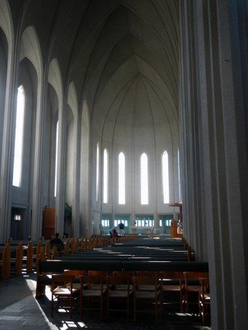 Inside - Gothic Style - Iceland - Hallgrimskirkja - Hallgrims Church - Iceland Tours