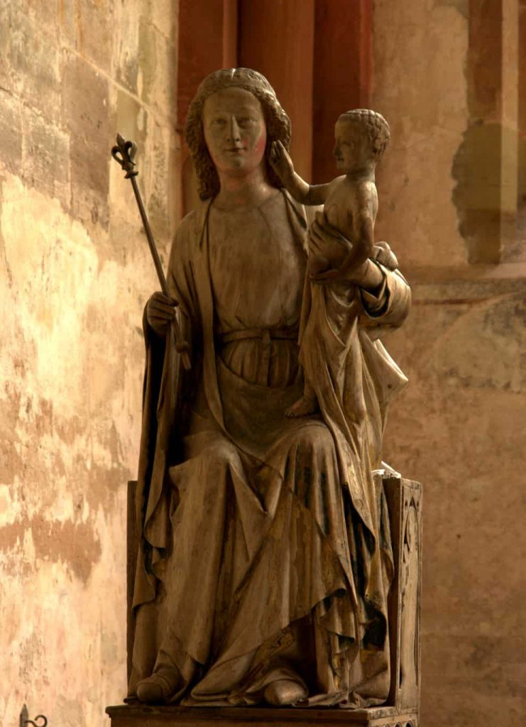 The Madonna of Maulbronn 14th century