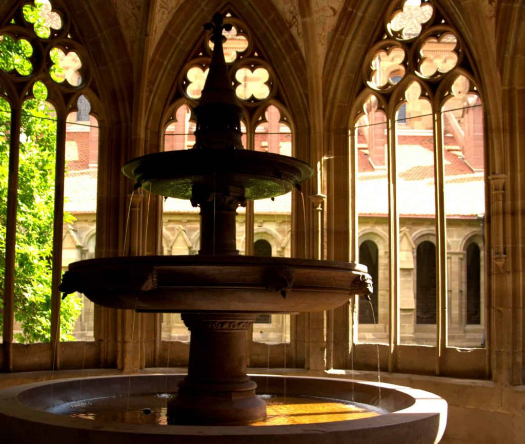 The fountain in the monastery of Maulbronn