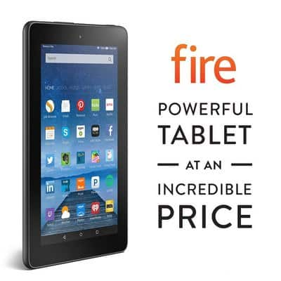 Amazon Fire Tablet for Travelers