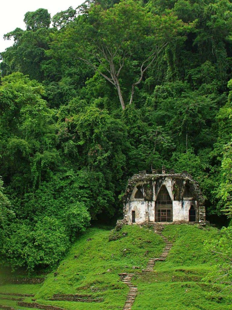 Blattkreuztempel in Palenque