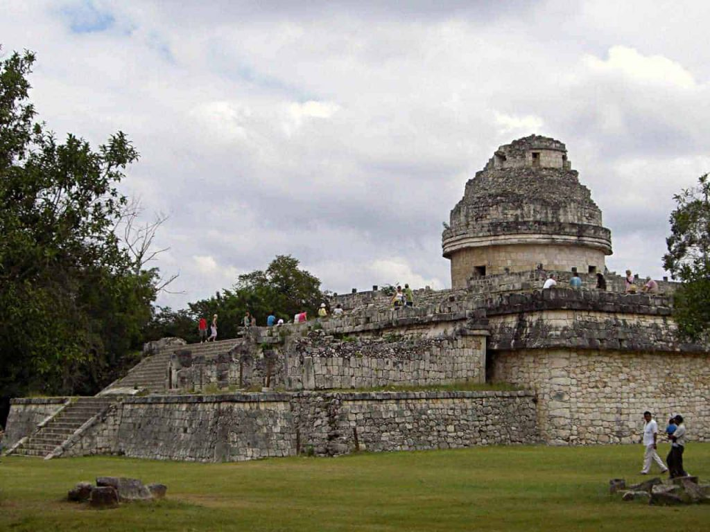 The Snail - El Caracol in Chichén Itzá