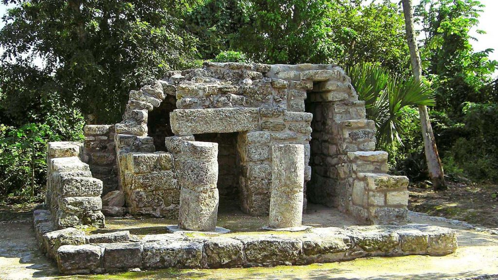 Chichan Nah - Cozumel - San Gervasio - Tempel