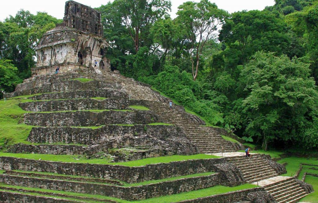 Der Kreuztempel in Palenque