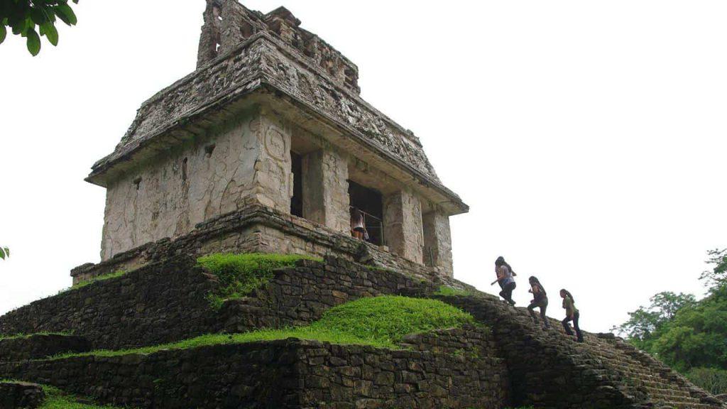 Der Sonnentempel in Palenque