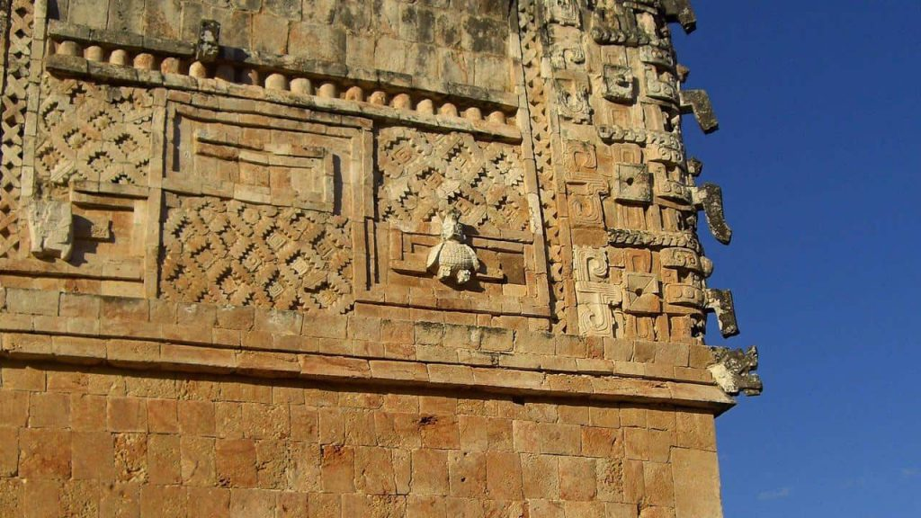 Der Taubentempel in Uxmal