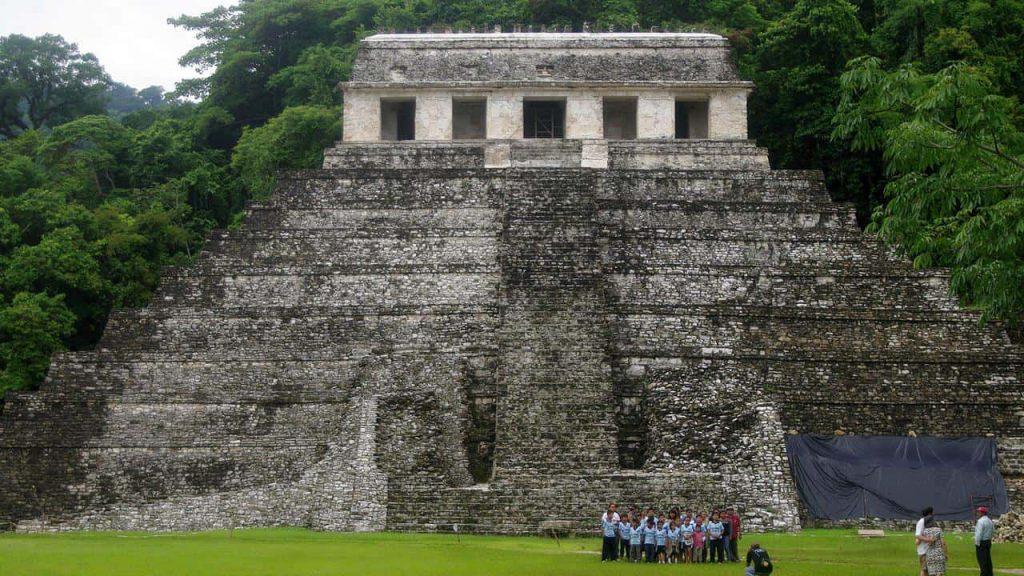 Der Tempel der Inschriften in Palenque