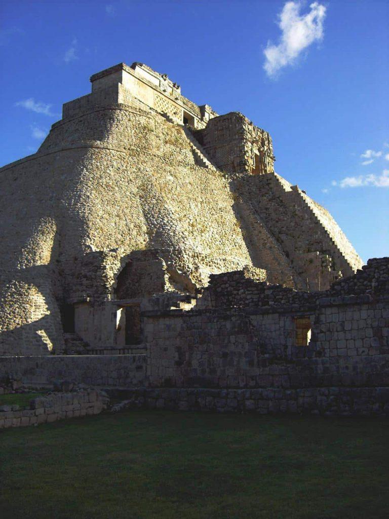 Die Pyramide des Zauberers in Uxmal