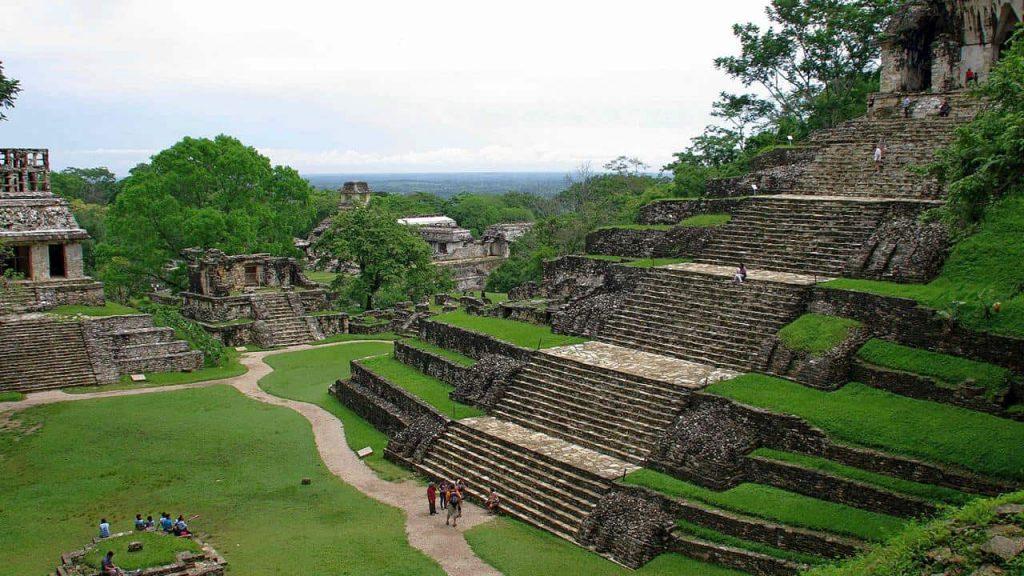Kreuzgruppe in Palenque