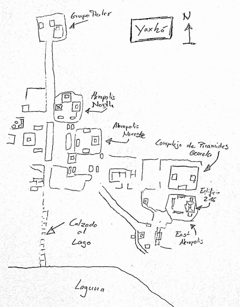 Karte Yaxha