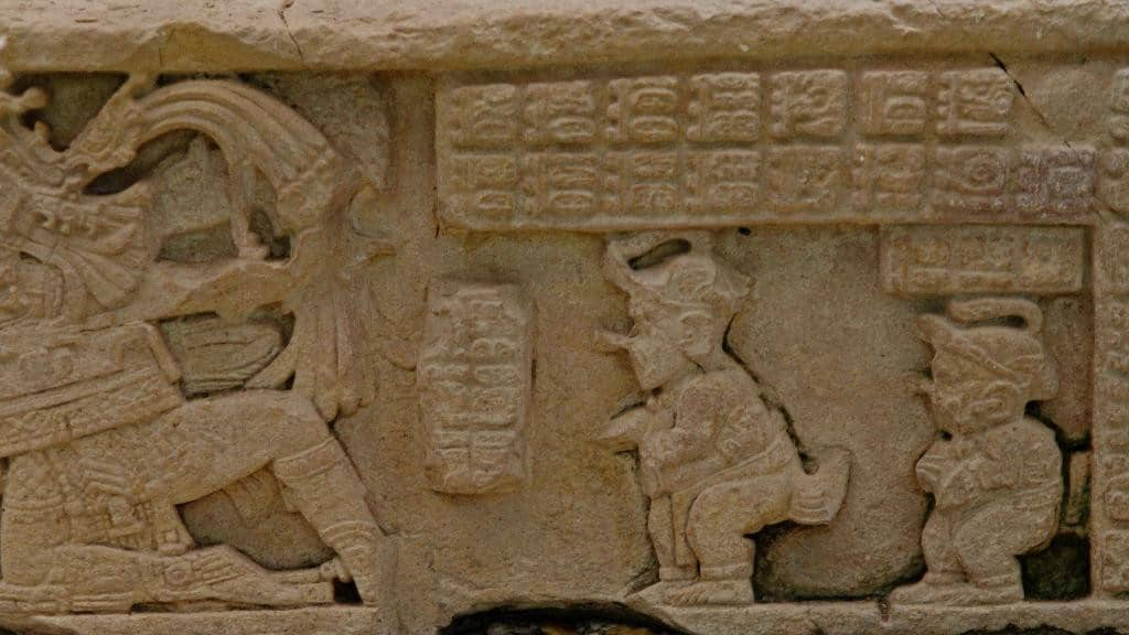 Relief in Yaxchilan