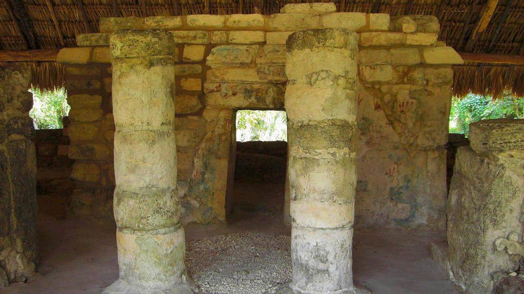 Los Murales in San Gervasio auf Cozumel