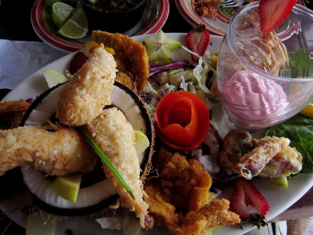Campeche – Auswahl an Seafood