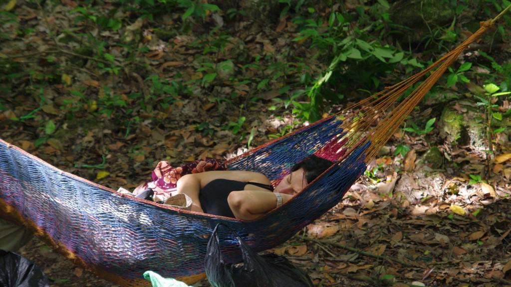 Sleeping Maya Princess at El Mirador