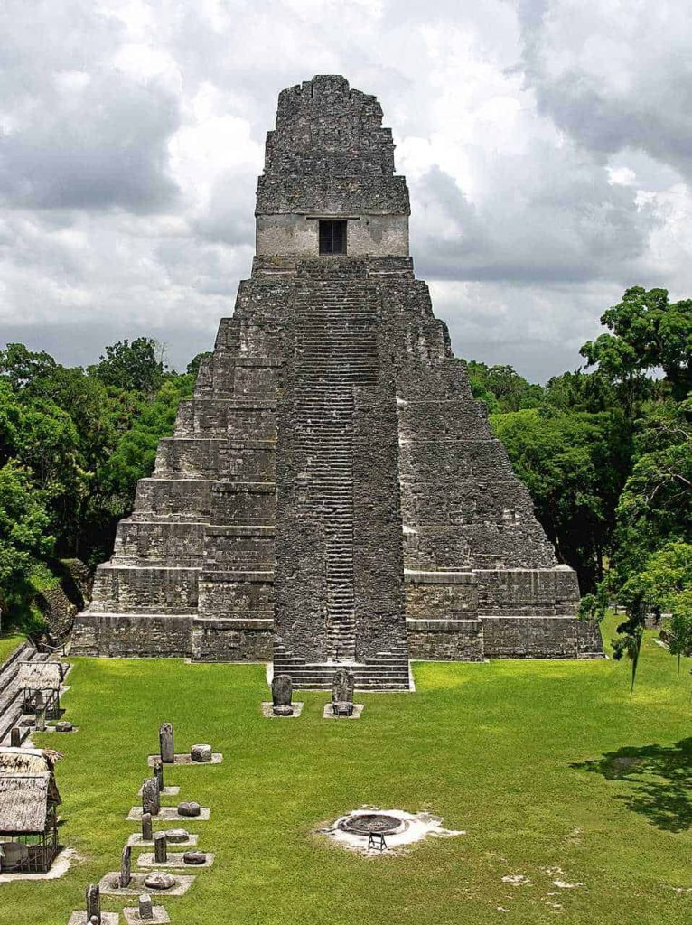 Tikal: Temple II at the Plaza Major