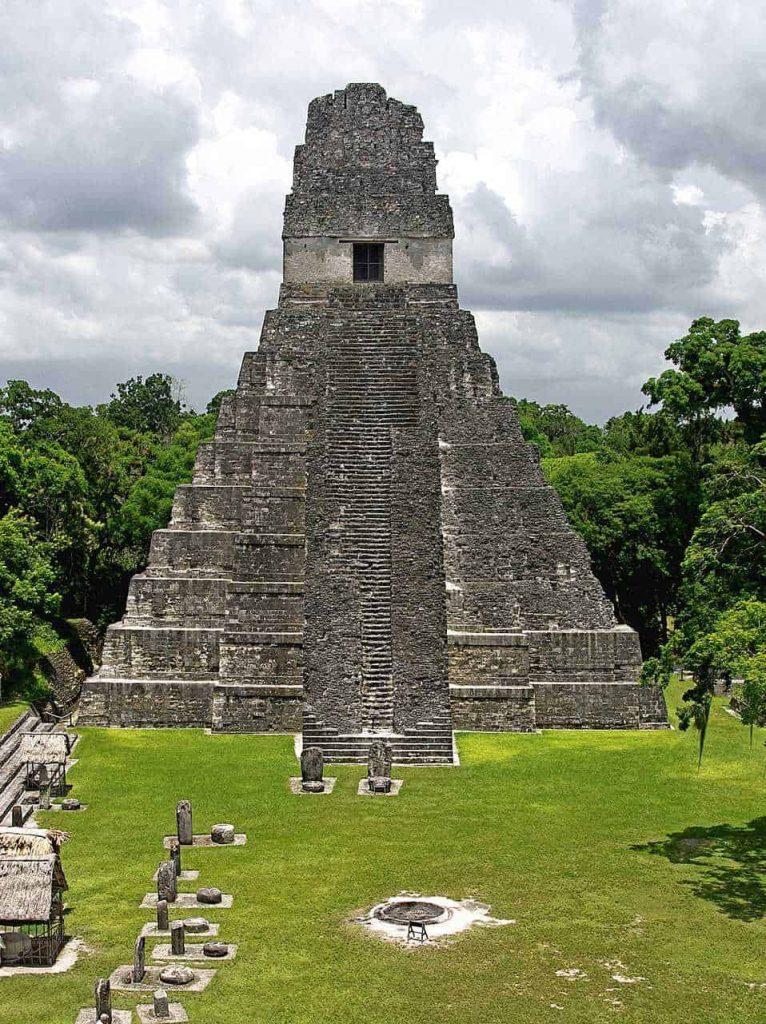 Tikal: Temple II at the Plaza Major