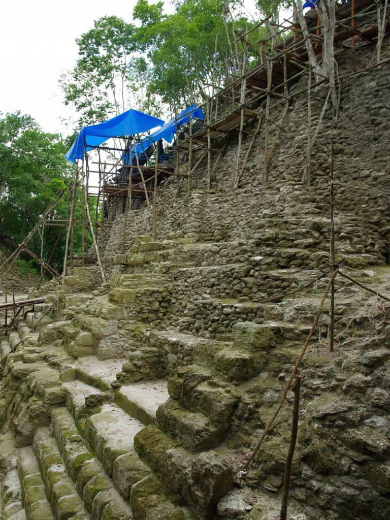 Top Pyramide von La Danta in El Mirador