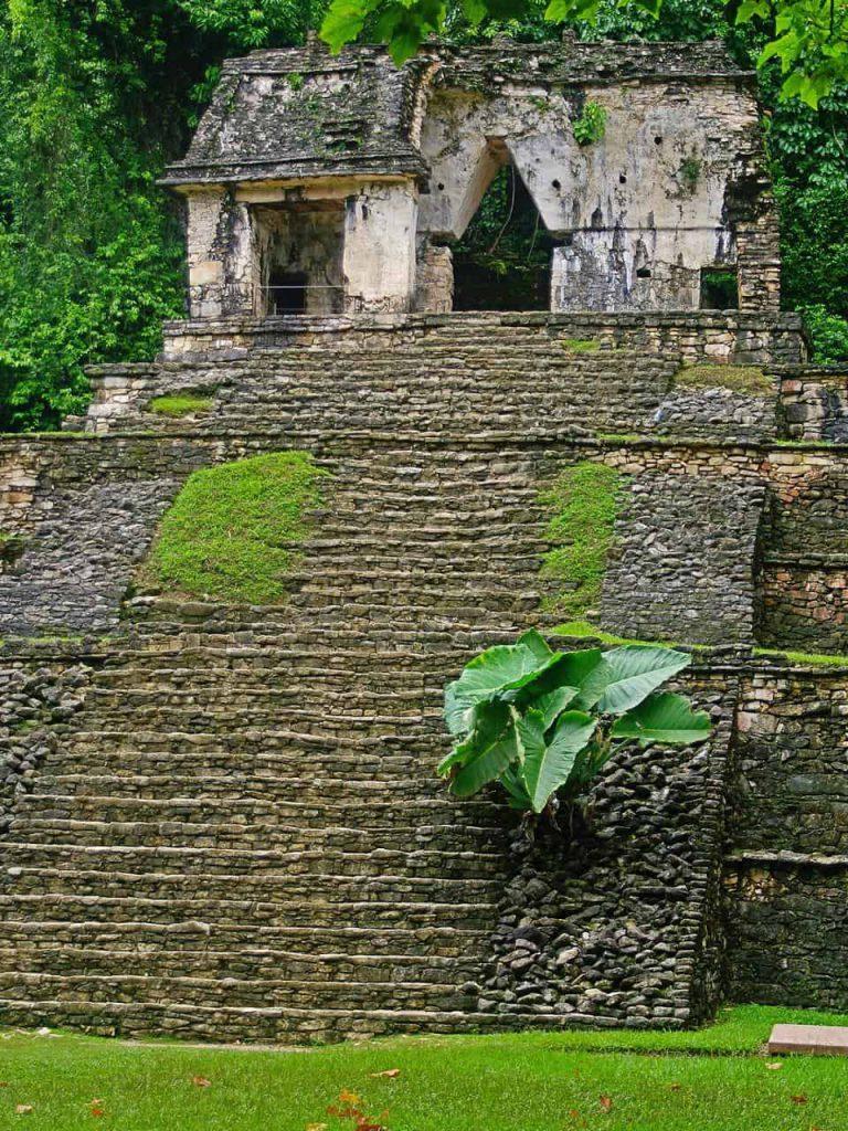 Totenkopftempel in Palenque