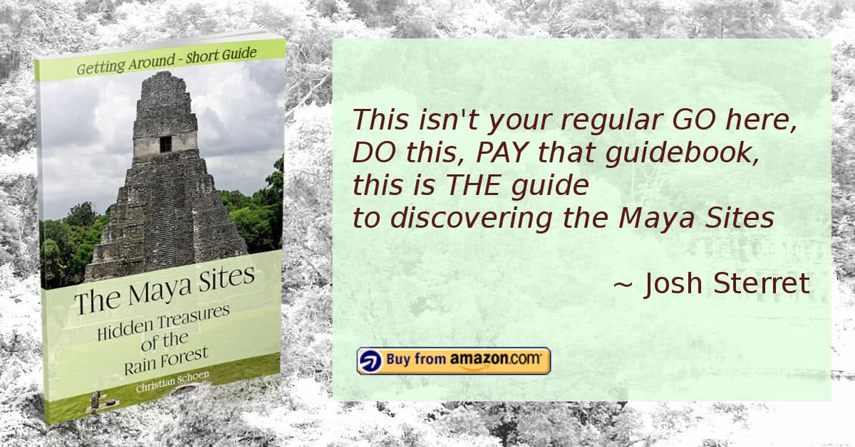 Ad for The Maya Sites - Hidden Treasures of the Rain Forest