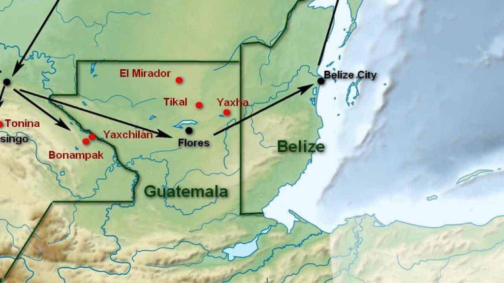 Map-Guatemala Featured