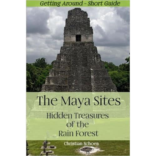 Here you can puchase my book THE MAYA SITES - HIDDEN TREASURES OF THE RAIN FOREST at Amazon