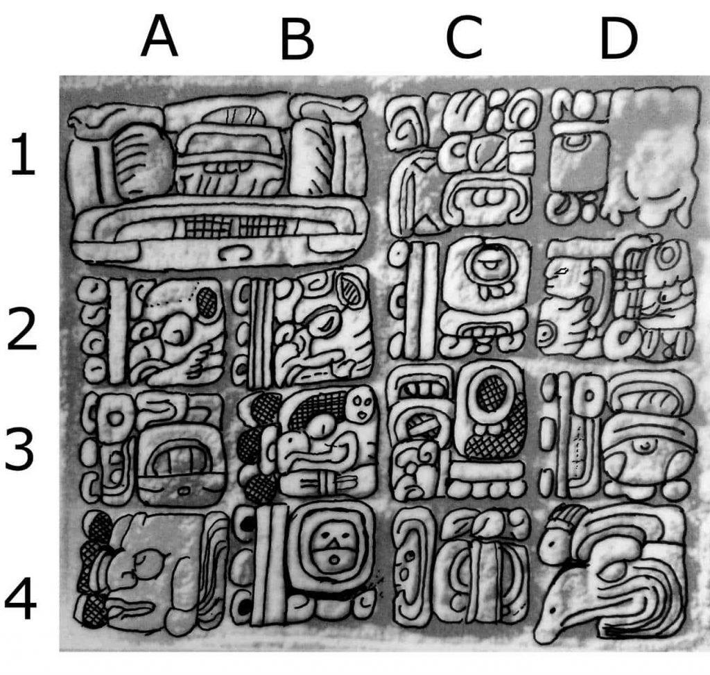 Der Mayakalender - Stela 11 - Yaxchilan