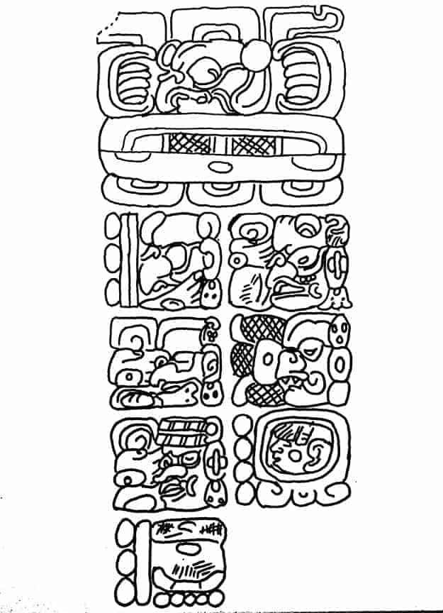 Der Mayakalender - Schöpfungsdatum - Stela C - Quirigua