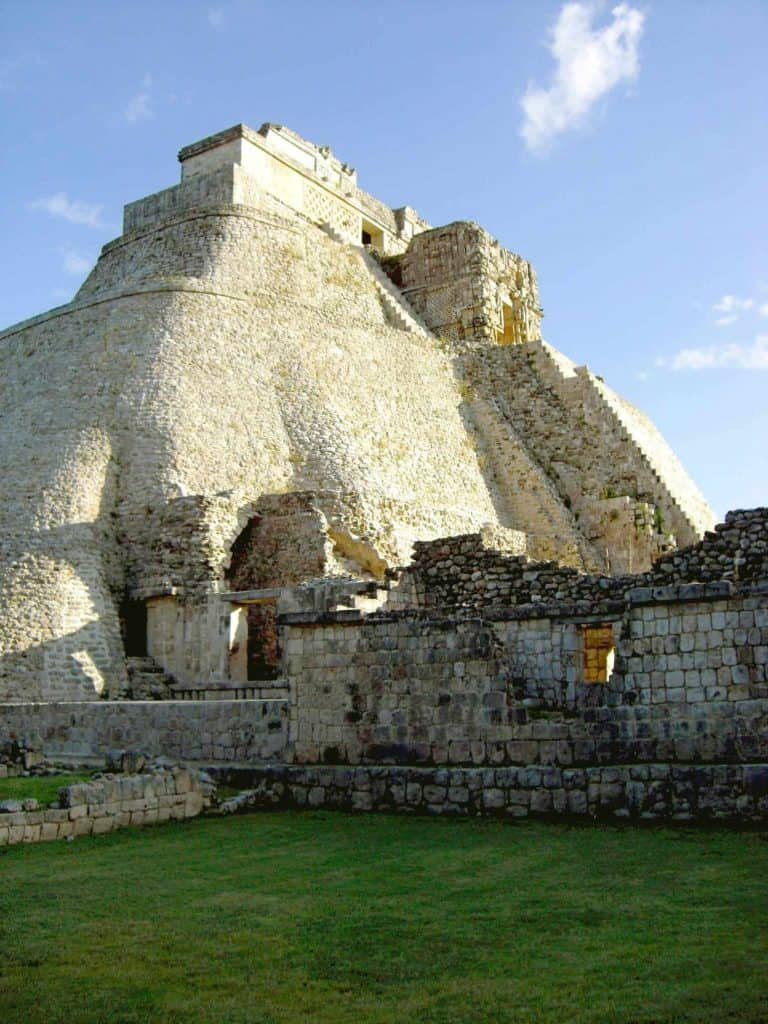 The Pyramid of the Magician in Uxmal