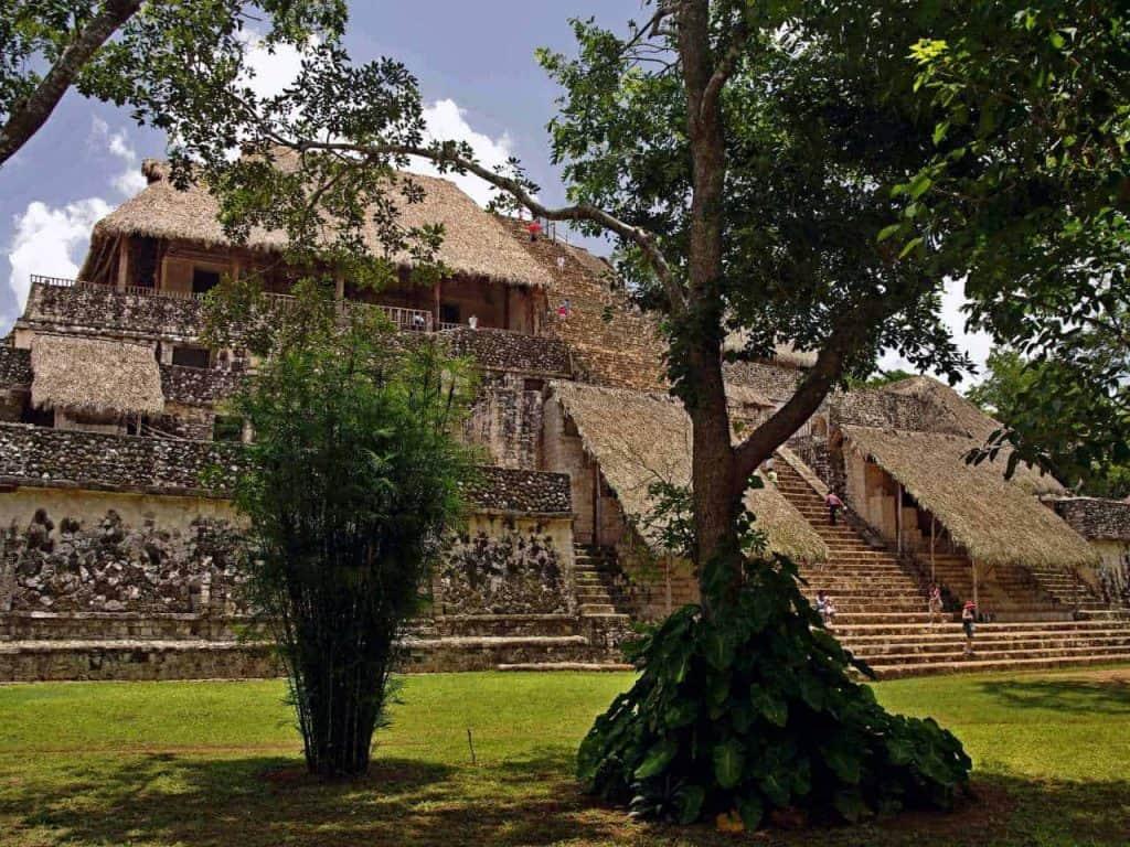 The Acropolis in Ek Balam