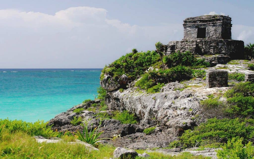 Temple of the Wind God - Tulum - Quintana Roo