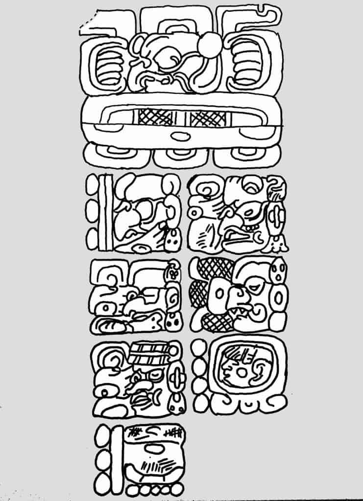 The Maya Calendar - Stela C - Quirigua - The Creation day